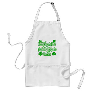 Drink Like You're Irish Standard Apron