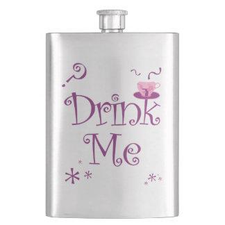 Drink Me Alice in Wonderland Premium Tea Flask