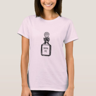 """Drink Me"" Alice In Wonderland T shirt"