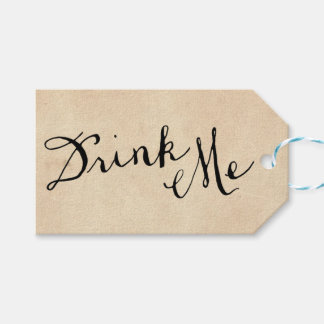 Drink Me Gift Tags