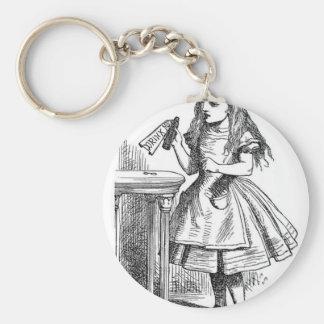 Drink Me Key Ring