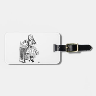 Drink Me Luggage Tag