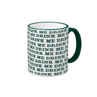 Drink Me Ringer Mug