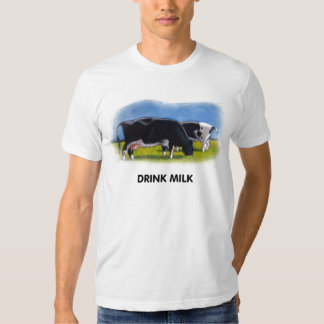 DRINK MILK COWS ARTWORK T-Shirt