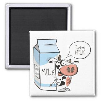 Drink milk magnet