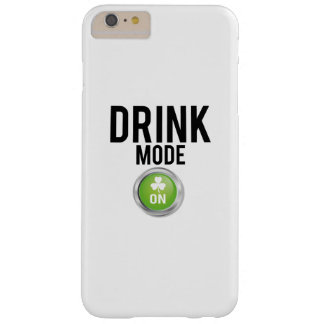 Drink Mode St. Patrick's Day Shamrocks Barely There iPhone 6 Plus Case