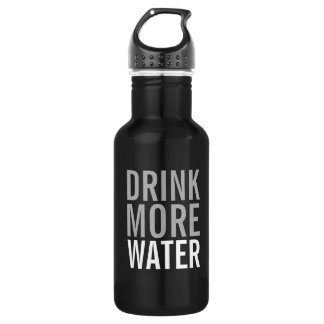 Drink More Water | Simple Minimalist 532 Ml Water Bottle