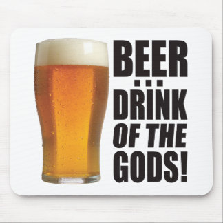 Drink Of Gods Mouse Pad