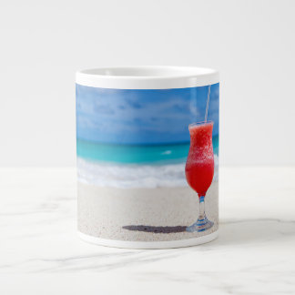 Drink on the Beach Large Coffee Mug