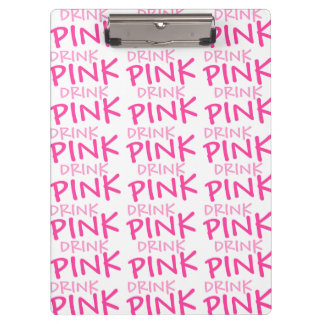 Drink Pink Plexus Slim Custom Clipboard