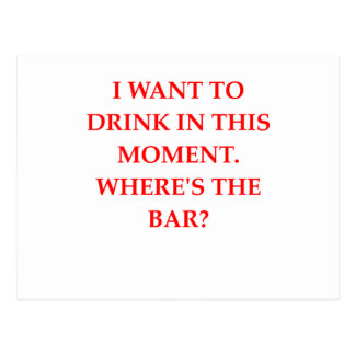 DRINK POSTCARD