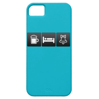 Drink, Sleep and Christmas Bells iPhone 5 Covers