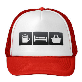 Drink, Sleep and Grocery Shopping Cap