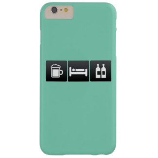 Drink, Sleep and Liquor Stores Barely There iPhone 6 Plus Case