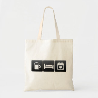 Drink, Sleep and Mother�s Day Budget Tote Bag
