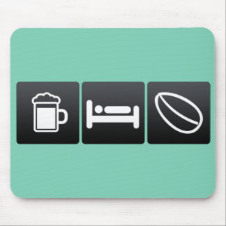 Drink, Sleep and Roasting Coffee Mouse Pad