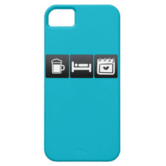 Drink, Sleep and Valentine�s Day iPhone 5 Covers