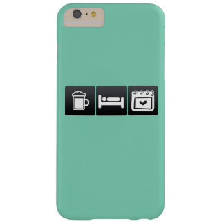 Drink, Sleep and Valentine�s Day Barely There iPhone 6 Plus Case