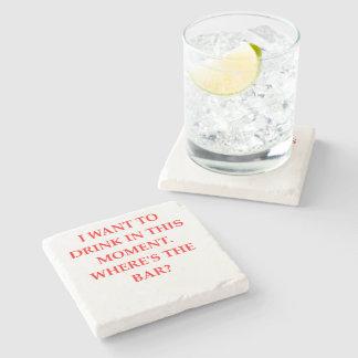 DRINK STONE BEVERAGE COASTER