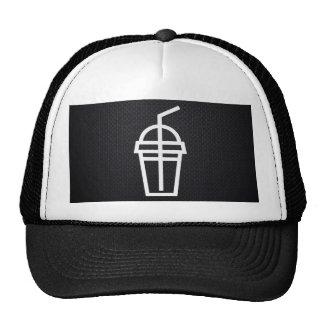 Drink Straws Icon Cap