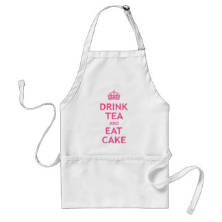 Drink Tea and Eat Cake Standard Apron