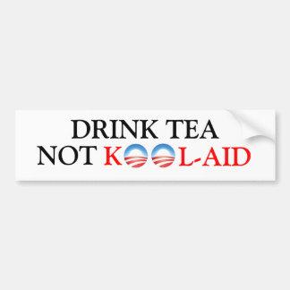 Drink Tea Bumper Sticker