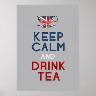 Drink tea poster