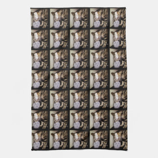 Drink Thief Cat by Shirley Taylor Tea Towel