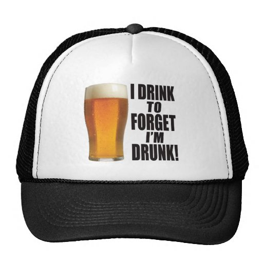 Drink To Forget Mesh Hat