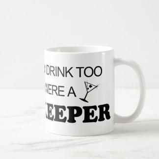 Drink Too - Bookkeeper Basic White Mug