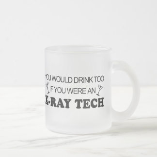 Drink Too - X-Ray Tech Frosted Glass Coffee Mug