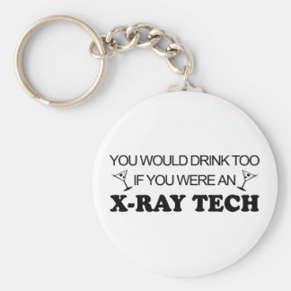 Drink Too - X-Ray Tech Key Ring