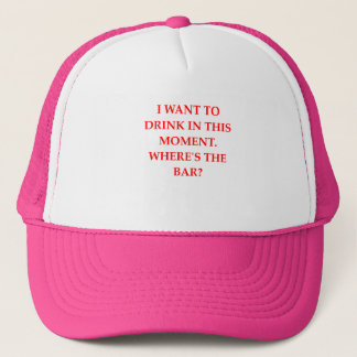 DRINK TRUCKER HAT