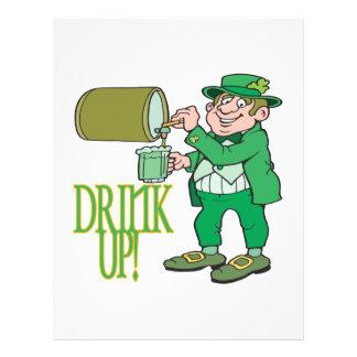 Drink Up Flyer Design