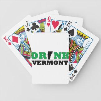 Drink Vermont Beer Local 802 Poker Deck