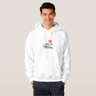 Drink Witches Wine lovers Halloween Funny Party Hoodie