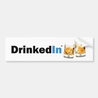 DrinkedIn Bumper Stick Bumper Sticker