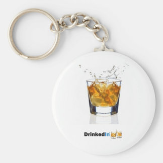 DrinkedIn Keychain