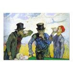 Drinkers by Vincent van Gogh Custom Announcement