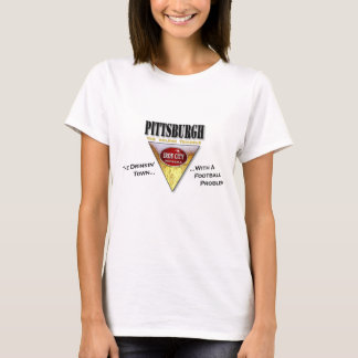 Drinkin' Town with a Football Problem Pittsburgh T-Shirt