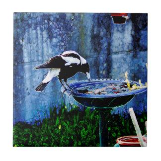 Drinking Bird Ceramic Tile
