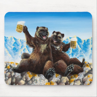 """Drinking Buds"" Mousepad"