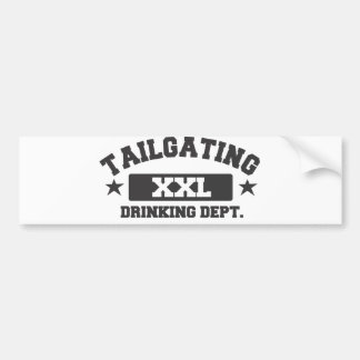 Drinking Dept. Bumper Sticker