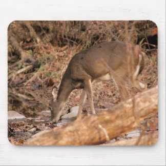 Drinking Doe Mouse Pad