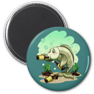 Drinking Fish magnet