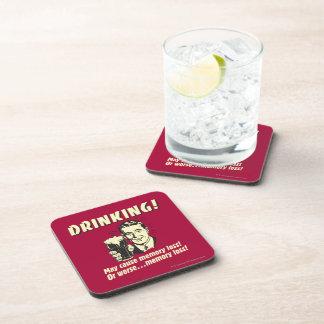Drinking: May Cause Memory Loss Worse Coasters