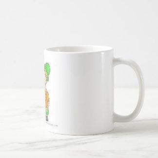 drinking st patricks design basic white mug