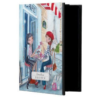 Drinking Tea Girls in Paris | iPad Air 2 Case