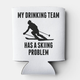 Drinking Team Skiing Problem Can Cooler