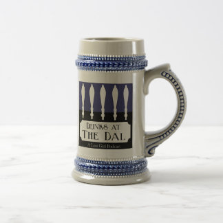 Drinks at The Dal Logo Beer Steins